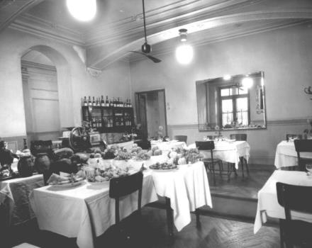 1940/1945-the Hotel Genova was equipped at the time of restaurant