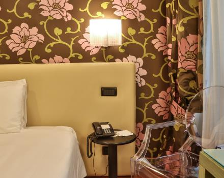 Comfort rooms at Hotel Genoa in Turin