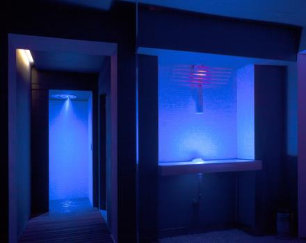 Emotional shower and ice SPA H14 of BW Plus Hotel Genova Turin