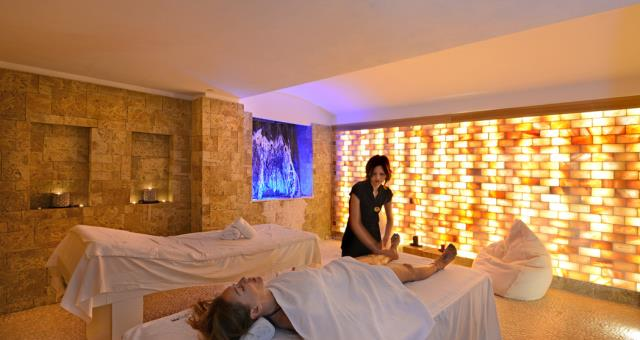 SPA salt cave H14 of the best Western Hotel Genova Turin