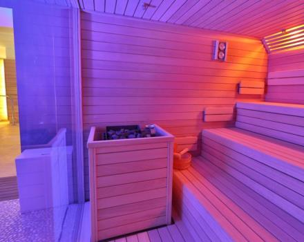 SPA Sauna H14 of BW Plus Hotel Genova Turin