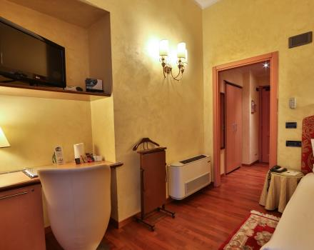 Stay with all the comforts in Turin at the Hotel Genova