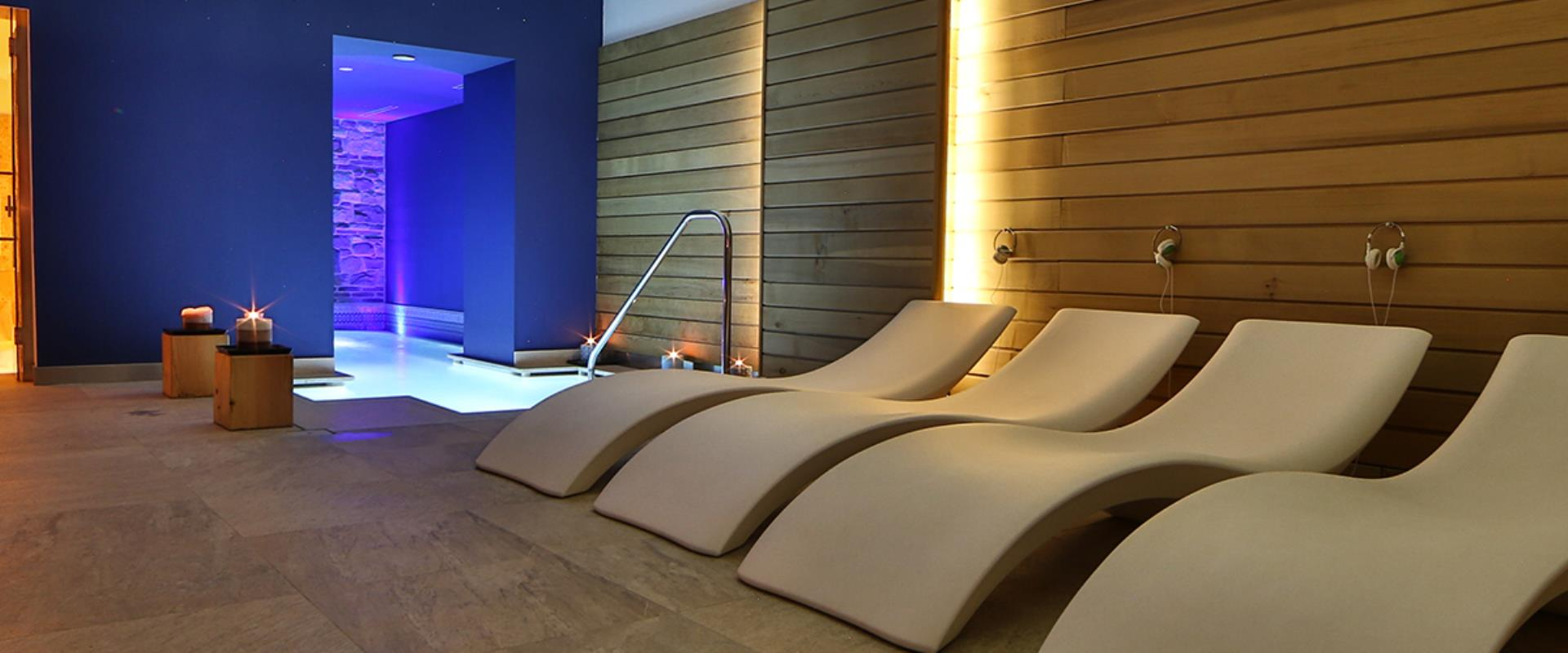 The relaxation Area of SPA H14 of BW Plus Hotel Genova Turin