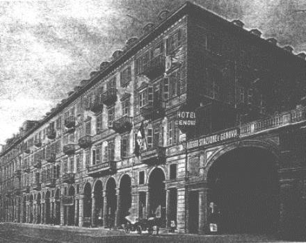The building where is located the Hotel Genova was built in the last decades of 800, as all the surrounding area the Porta Nuova station