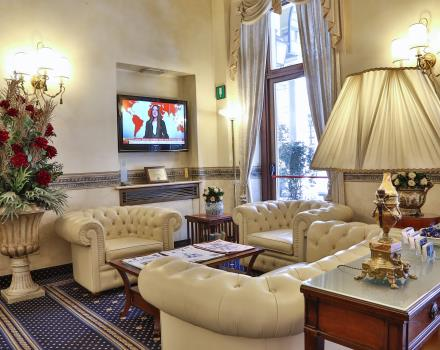 The lobby of BW Plus Hotel Genova Turin